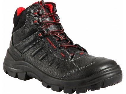 TOBIAS S3 NON METALLIC pracovní kotníková obuv černá (Velikost/varianta 48)