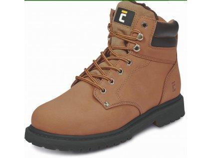 HONEY ANKLE WINTER kotníková pracovní obuv hnědá (Velikost/varianta 48)