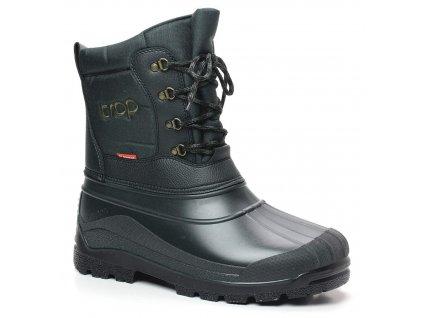 TROP 2 zimní myslivecká obuv zelená (Velikost/varianta 47)
