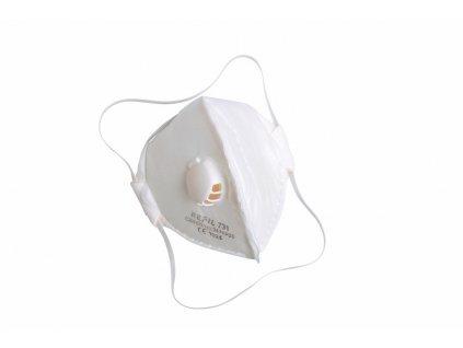 REFIL 731 respirátor skládací s ventilem FFP2 (Velikost/varianta UNI)