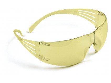 3M SECURE FIT SF200 brýle žluté (Velikost/varianta UNI)