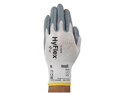 HYFLEX FOAM 11-800 rukavice máčené polyuretanem (Velikost/varianta 11)