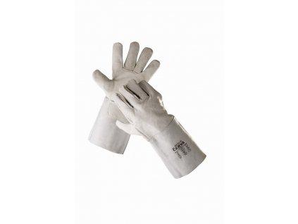 MERLIN rukavice svářecí z hovězí štípenky v dlani (Velikost/varianta 11)