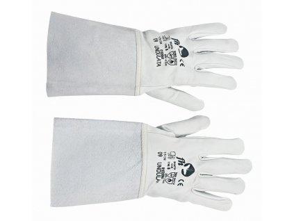 UNDULATA rukavice svářečské šedá (Velikost/varianta 10)