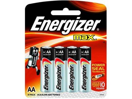 ENERGIZER Max baterie tužková alkalická AA 4+2 zdarma (Velikost/varianta UNI)