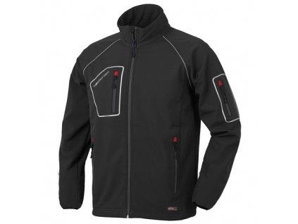 JUST softshellová bunda černá (Velikost/varianta 3XL)