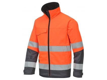 Rip-stop reflexní bunda zimní oranžová (Velikost/varianta 3XL)