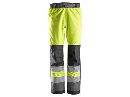 AllroundWork nepromokavé reflexní kalhoty žluté (Velikost/varianta 3XL)