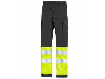 SERVICE reflexní kalhoty černé (Velikost/varianta 64)