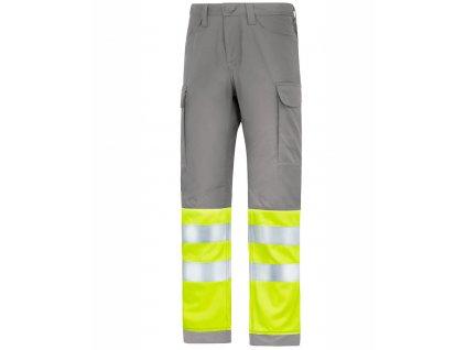 SERVICE reflexní kalhoty šedé (Velikost/varianta 64)