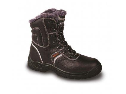 SHEFFIELD O1W zimní poloholeňová pracovní obuv černá (Velikost/varianta 48)