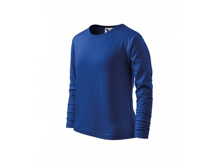 Fit-T LS triko dětské královská modrá