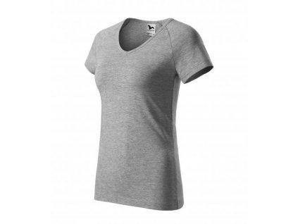 Dream tričko dámské tmavě šedý melír