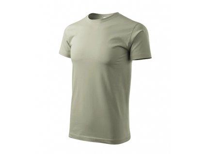 Basic tričko pánské světlá khaki