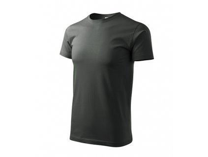 Basic tričko pánské tmavá břidlice