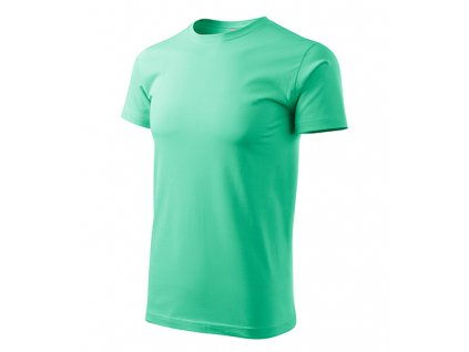 Basic tričko pánské mátová