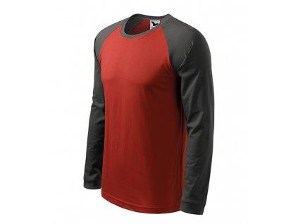 Street LS triko pánské marlboro červená