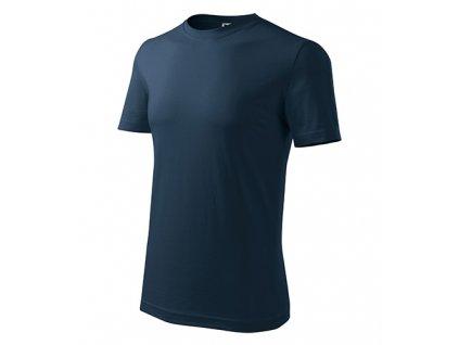 Classic New tričko pánské námořní modrá