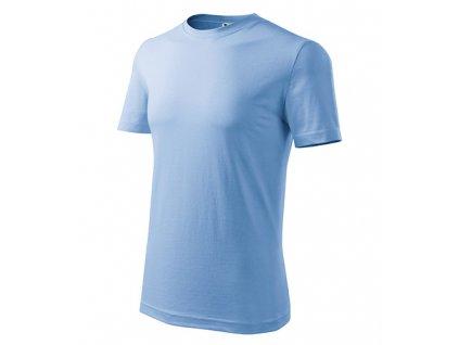 Classic New tričko pánské nebesky modrá