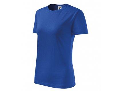 Classic New tričko dámské královská modrá