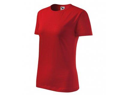 Classic New tričko dámské červená