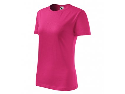 Classic New tričko dámské purpurová