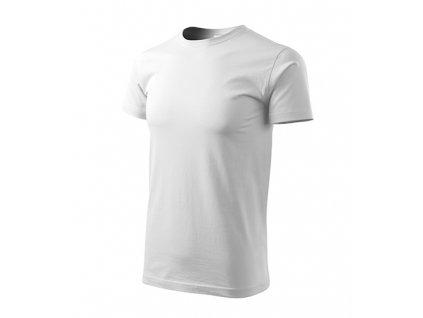 Heavy New tričko unisex bílá