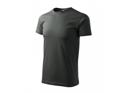 Heavy New tričko unisex tmavá břidlice