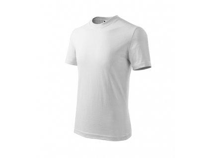 Basic tričko dětské bílá