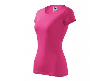 Glance tričko dámské purpurová