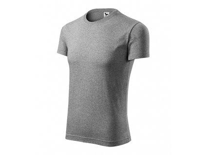 Viper tričko pánské tmavě šedý melír