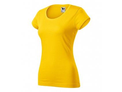 Viper tričko dámské žlutá