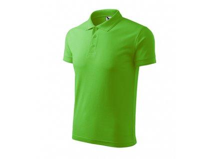 Pique Polo polokošile pánská apple green