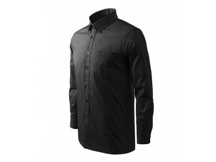 Style LS košile pánská černá