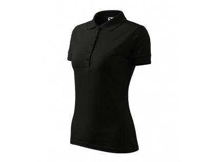 Pique Polo polokošile dámská černá