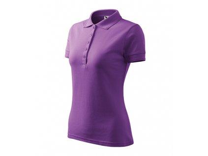 Pique Polo polokošile dámská fialová