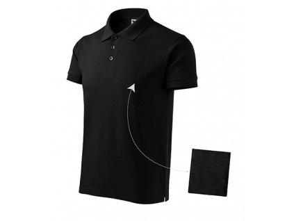 Cotton polokošile pánská černá