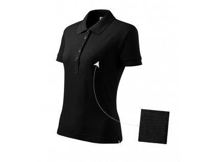 Cotton polokošile dámská černá
