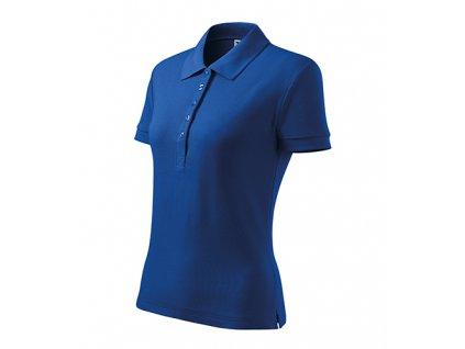 Cotton Heavy polokošile dámská královská modrá