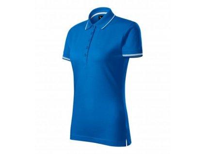 Perfection plain polokošile dámská snorkel blue