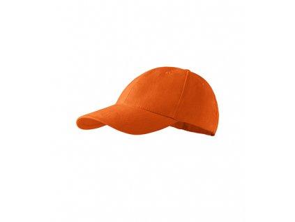 6P Kids čepice dětská oranžová