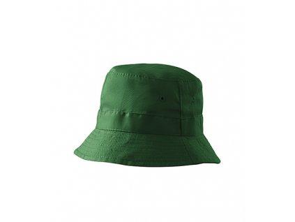 Classic klobouček unisex lahvově zelená