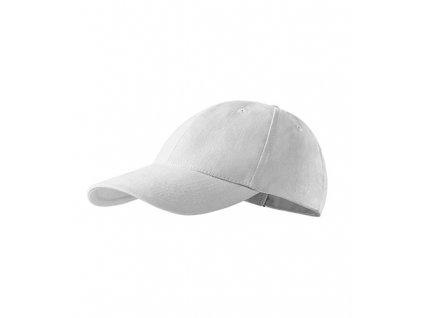 6P čepice unisex bílá