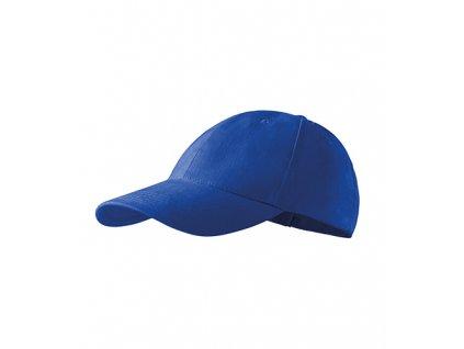 6P čepice unisex královská modrá