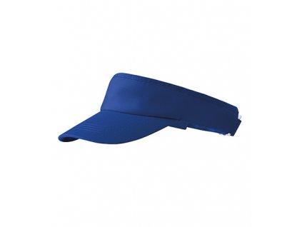 Sunvisor kšilt unisex královská modrá