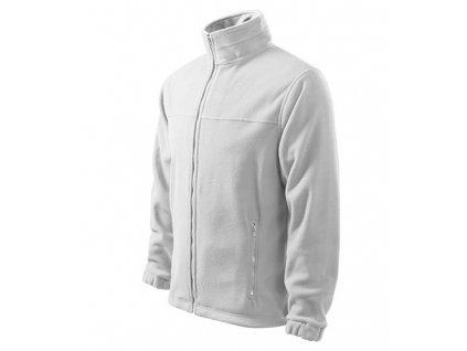Jacket fleece pánský bílá