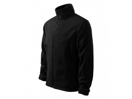 Jacket fleece pánský černá