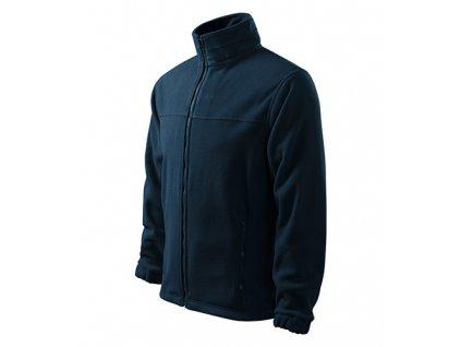 Jacket fleece pánský námořní modrá