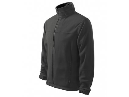 Jacket fleece pánský ocelově šedá