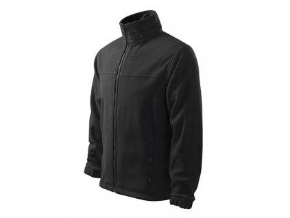 Jacket fleece pánský ebony gray